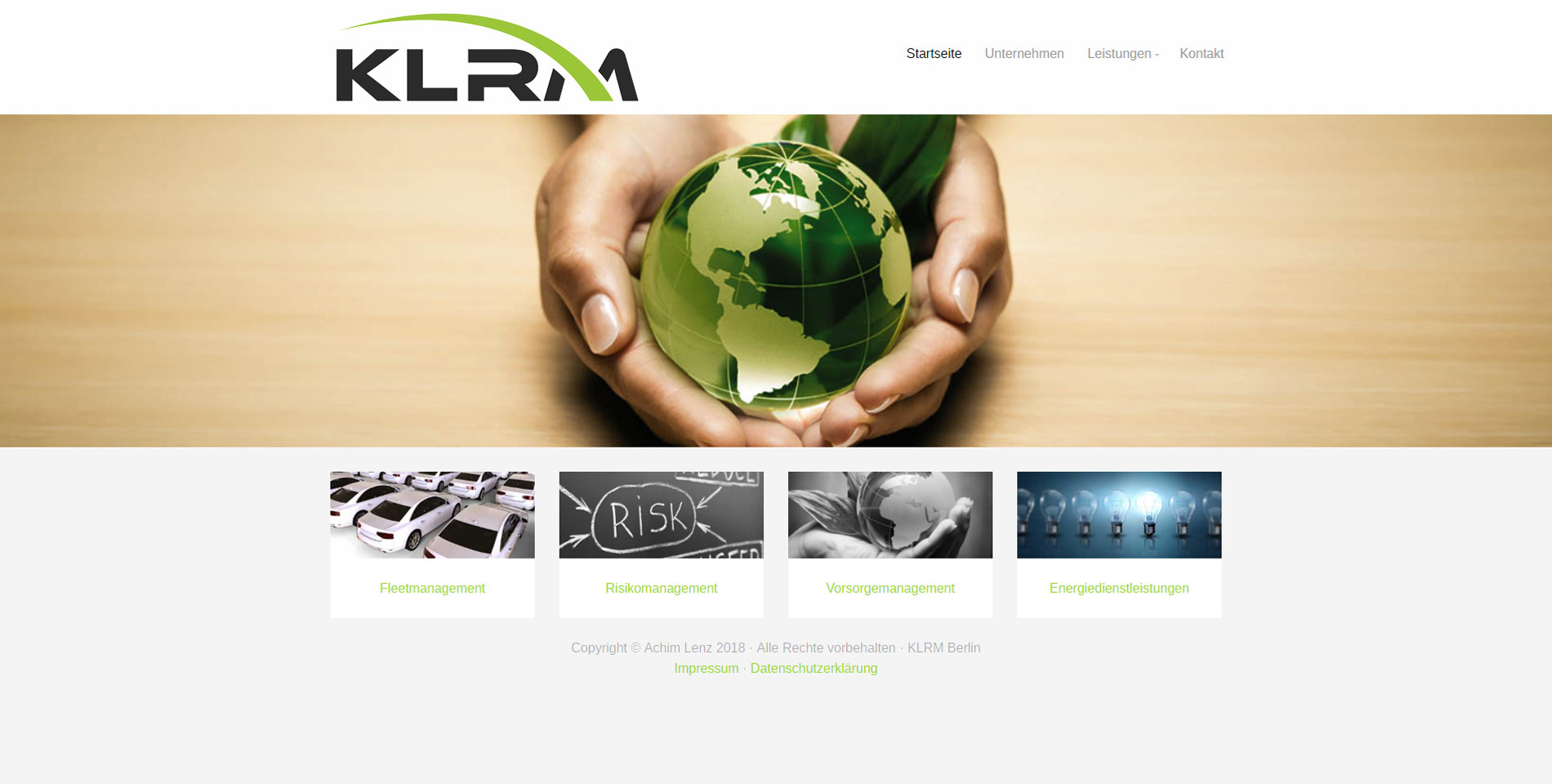 Website KLRM Berlin